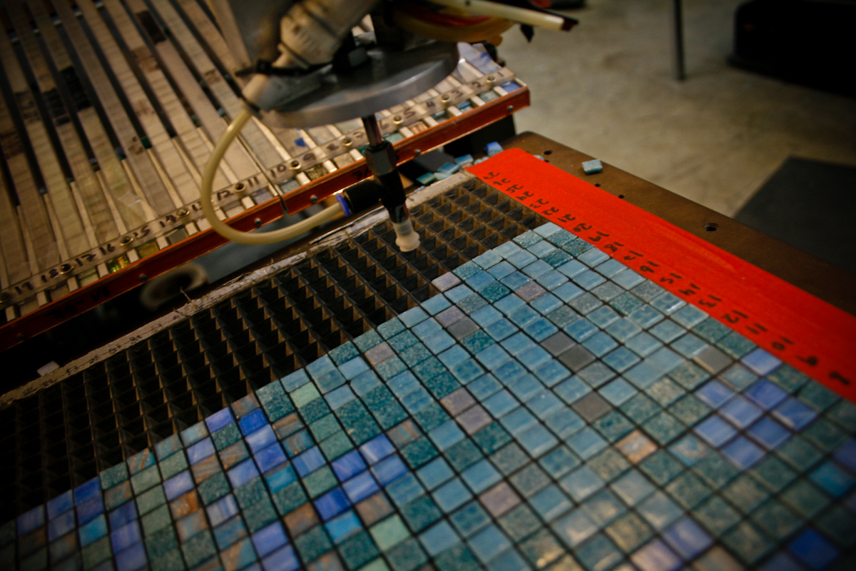 Mosaic Tile installation tool